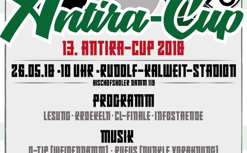 Update: 13. AntiRa-Cup